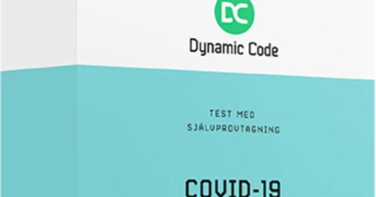 Dynamic Code erbjuder 10,23 miljoner nya provtagningsställen för covid-19 testning